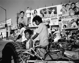 """India. Madras. © Carl De Keyzer - Magnum. 1987. Book """"India"""" 1987. 1987."""