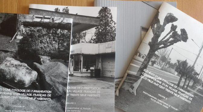 éléments d'une typologie de l'urbanisation contemporaine d'un village français de deux mille huit cent trente neuf habitants
